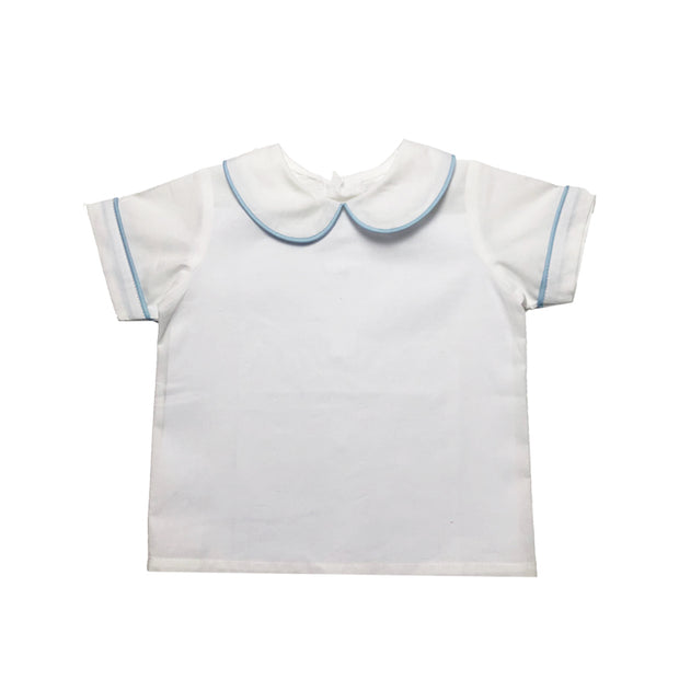 Brad Shirt - White/Blue