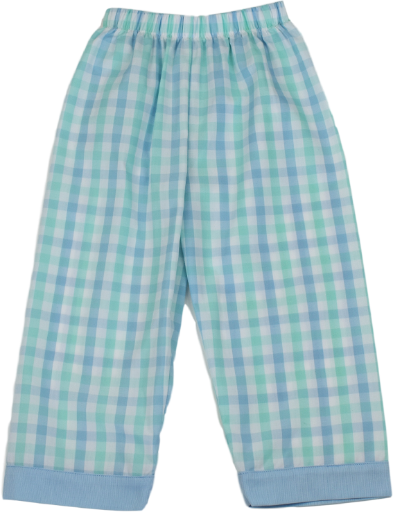William Pant - Blue/Green Plaid