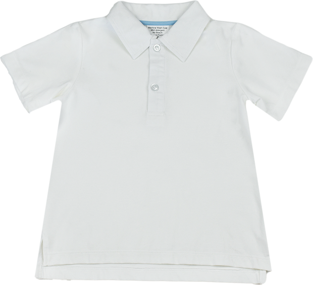 Parker Polo - White/Blue