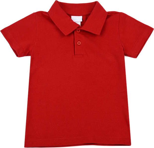 Parker Polo - Red Knit