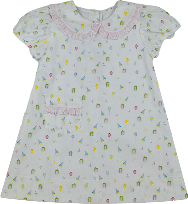 1956 Pocket Dress - Party Print - 65th Anniversary