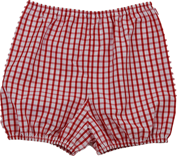Munro Bloomer - Red Plaid - Anchors Aweigh