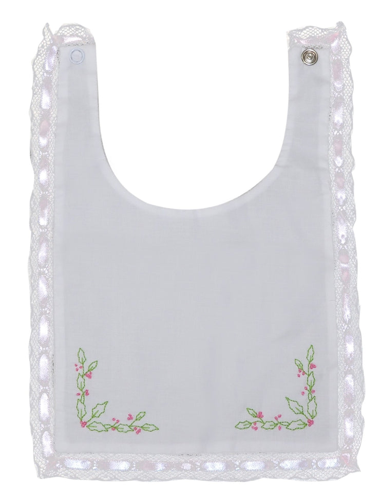 Heirloom Bib - Holly - Lt. Pink - Adore Him