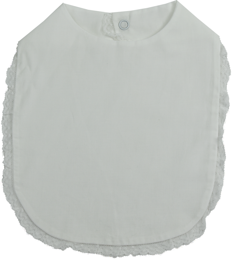 Heirloom Bib - White
