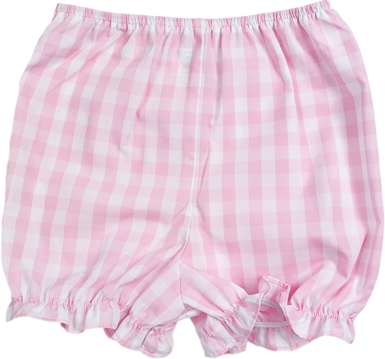 Munro Bloomer - Pink Plaid