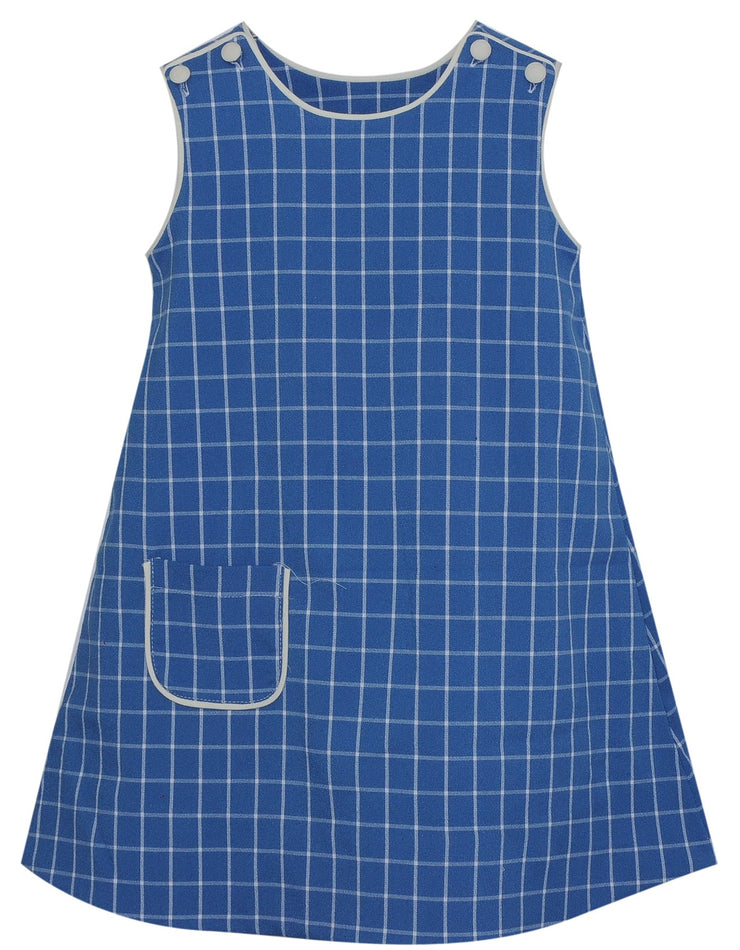 Joy Jumper - French Blue Check