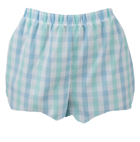 Munro Bloomer - Blue/Green Plaid