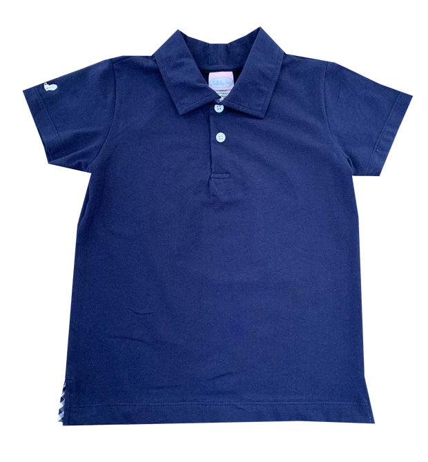 Prince George Polo - Navy Knit
