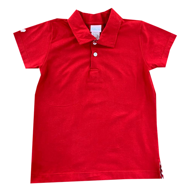 Prince George Polo - Red Knit