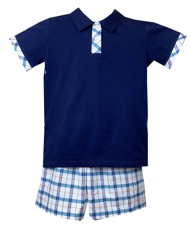 Prince George Polo Set - Weekend Windowpane
