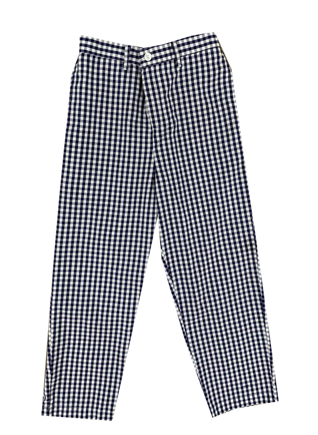 Princeton Pant - Navy Large Check