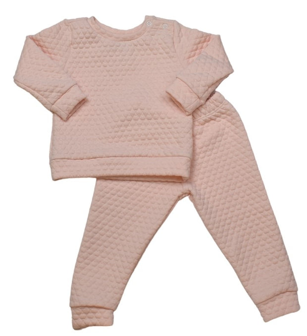 Quilted Sweatsuit - Light Pink - All Day Play
