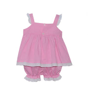 Sally Swing Set - Pink Gingham