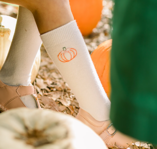 Knee High Socks - Pumpkin - Pick of the Patch