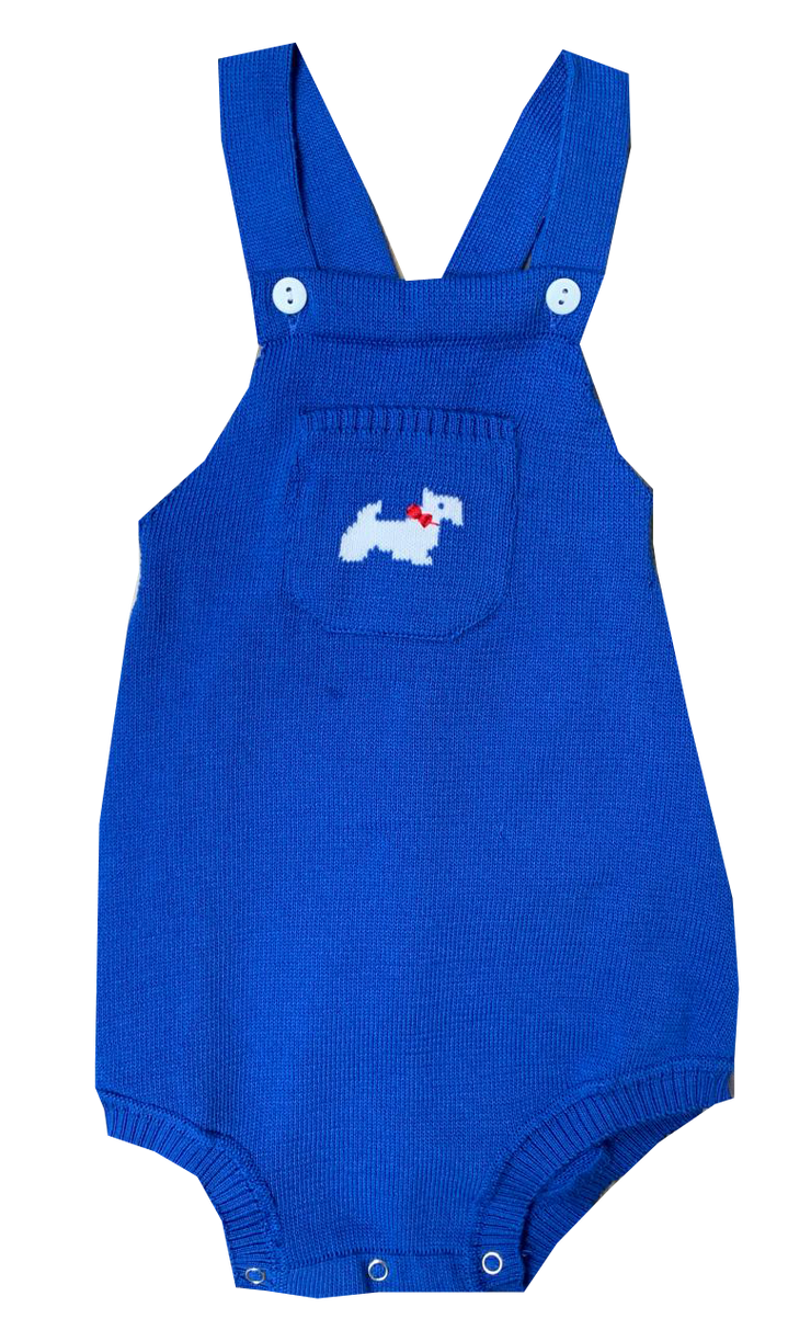 Seriously Cute Sweatersuit - Royal
