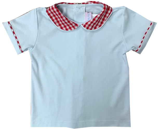 Sibley Shirt - Blue / Red Gingham
