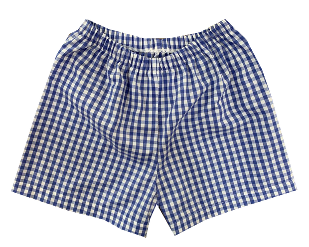 Sibley Short - Royal Gingham
