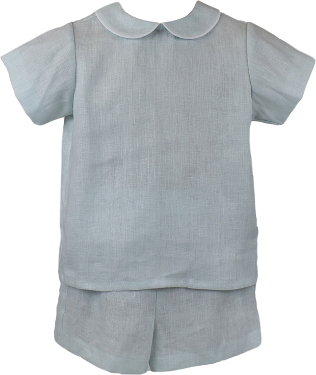 Sibley Short Set - Linen