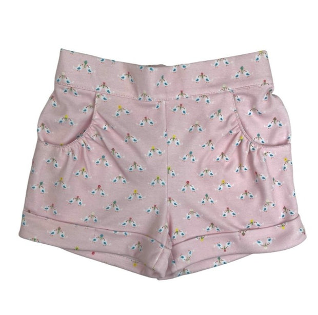 Bailey Short - Bird Print