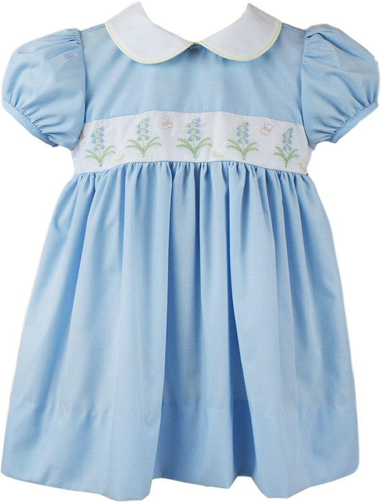 Sue Shaw Dress - Light Blue - Living The Legacy