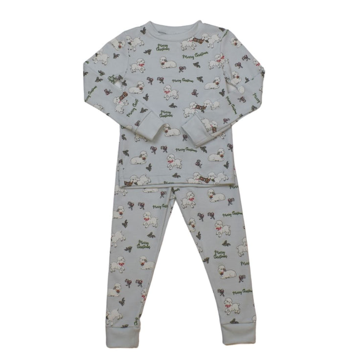 Sweet Dreams Pajamas - Lt. Blue - Christmas Lambs