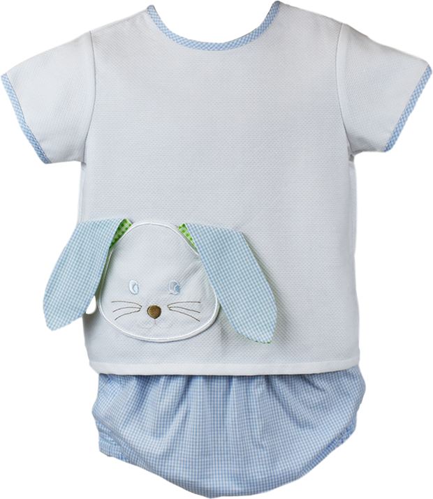 Abbott Diaper Set - Bunny Pocket