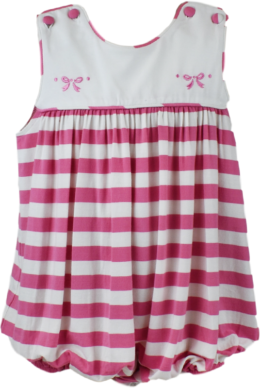 Charming Bubble - Pink Stripe