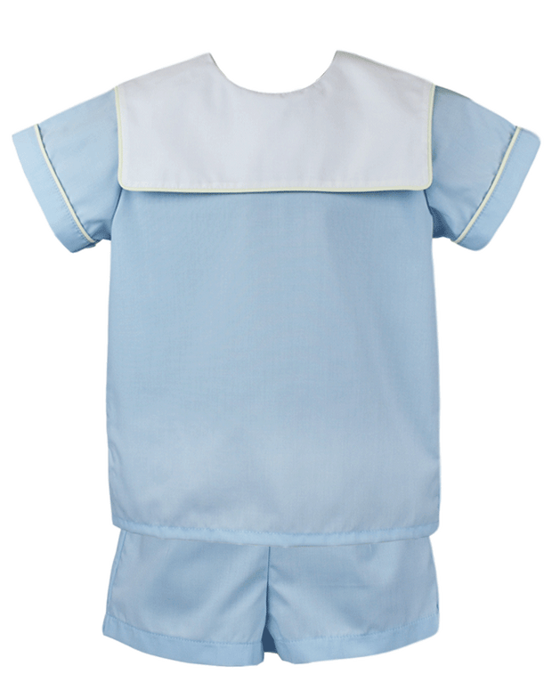 Christian Short Set - Light Blue