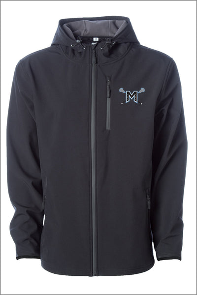 Mountainside Lacrosse POLY-TECH WATER RESISTANT SOFT SHELL JACKET (Adult Unisex)