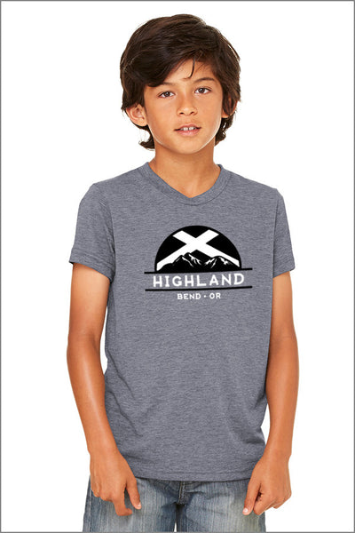 Highland Jersey Short-Sleeve T-Shirt (Youth Unisex)