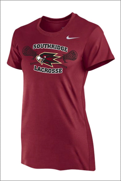 SRHS Lacrosse Nike Legend Dry-Fit Tee (Womens)