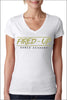 Fired-Up Sporty V-Neck (Women's)