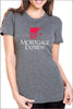 Mortgage Express Tri-Blend Tee Shirt (Womens)