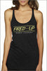Fired-Up Tri-Blend Racerback Tank (Women's)
