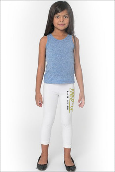 Fired-Up Cotton Spandex Jersey Legging (Kids)