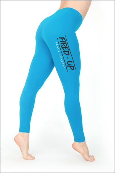 Fired-Up Cotton Spandex Jersey Legging