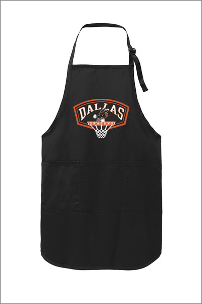Dallas Basketball Full-Length Apron with Stain Release