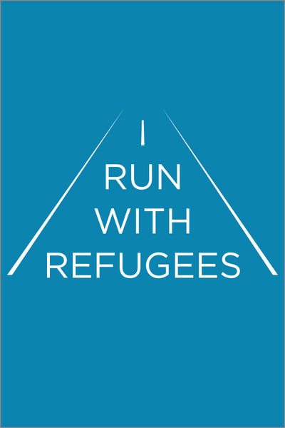 "World Relief ""I Run With Refugees"" Performance Tee (Adult Womens)"