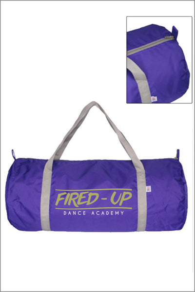 Fired-Up Nylon Gym Bag