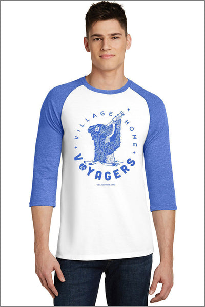 Village Home Baseball Raglan 3/4 Tee (Mens)