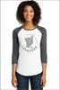 Village Home Baseball Raglan 3/4 Tee (Womens)