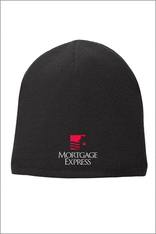 Mortgage Express Fleece-Lined Beanie Cap