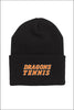Dallas Tennis Adidas Cuffed Knit Beanie