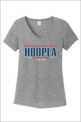 Hoopla Logo V-Neck (Womens)