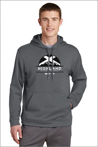 Highland Sport-Wick Fleece Hooded Pullover (Mens)