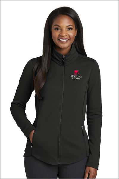 Mortgage Express Smooth Fleece Jacket (Womens)