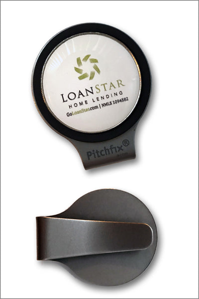 LoanStar Golf Ball Marker Hat Clip