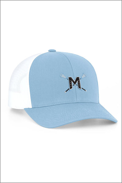 Mountainside Lacrosse Snapback Trucker Hat