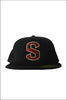 Southridge Black Flat Bill Hat