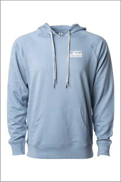 High Lakes Lightweight Loopback Terry Hoodie (Adult Unisex)